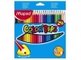 ma183224 - kredki ołówkowe Maped Colorpeps trójkątne 24 kolory