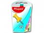 ma345011 - pinezki do tablic korkowych, kolorowe beczułki Maped mix kolorów, 25 szt./op.