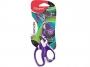 ma595010 - nożyczki szkolne 15 cm Maped Zenoa Fit, asymetryczne, kolorowy wzór