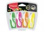 ma742777 - zakreślacz fluorescencyjny Maped Fluo Peps Pocket mini, gr. linii 1-5 mm, 4 szt./kpl.