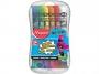 ma810520 - farby akwarelowe 12 kolorów Maped SuperPower 12 x 12 ml w aluminiowych tubkach