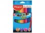 ma834010 - kredki ołówkowe Maped Colorpeps Maxi, trójkątne, 12 szt./op.