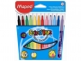 ma845020 - flamastry Maped Colorpeps tr�jk�tne 12 kolor�w