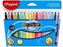ma845021 - flamastry szkolne trójkątne Maped Colorpeps 18 kolorów
