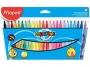 ma845022 - flamastry szkolne trójkątne Maped Colorpeps 24 kolory