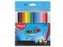 ma845720 - flamastry szkolne Maped Colorpeps Ocean, etui, 12 kolorów