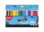 ma845722 - flamastry szkolne Maped Colorpeps Ocean, etui, 24 kolory
