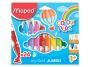 ma846222 - flamastry szkolne Maped Colorpeps Jumbo, 24 kolory