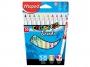 ma848010 - flamastry szkolne pędzelkowe Maped Colorpeps Brush, 10 kolorów