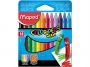 ma861011 - kredki świecowe Maped ColorPeps 12 kolorów