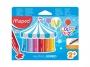 ma861311 - kredki świecowe Maped ColorPeps Jumbo 12 kolorów