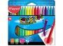 ma862012 - kredki plastikowe Maped ColorPeps plastikowe 18 kolorów