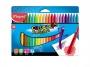 ma862013 - kredki plastikowe Maped ColorPeps plastikowe 24 kolorów