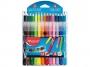 ma897412 - flamastry szkolne + kredki Maped Colorpeps, zestaw kredki 15szt + flamastry 12szt, 37 szt./op.