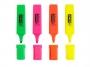 p5705000 - zakreślacz fluorescencyjny D.rect 1127, 101007, 4 szt./kpl.(Cena Dnia!!!)