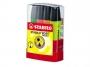 t70044 - zakreślacz fluorescencyjny Stabilo BossParade 70 plastikowa podstawka / przybornik, 4 szt./op.