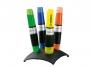 t7104 - zakreślacz fluorescencyjny Stabilo Luminator komplet biurkowy, przybornik, 4 szt./kpl.