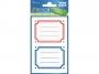 z3026 - naklejki Avery Zweckform Z-Design 3026 na książki i zeszyty - kolorowe ramki, 2x1, 30 ark./15 blistrów