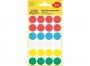 z3089 - etykiety samoprzylepne okrągłe Avery Zweckform 3089 śr. 18 mm, kółka, mix kolorów, 96 szt./op.