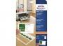 z32011o - papier, arkusze na wizytówki 85x54 mm Avery Zweckform 32011 biały matowy 2x5 A4 Quick&Clean 200g 10 ark./op.