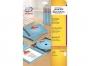 z32250p - wkładka do pudełek na płyty CD/ DVD Avery Zweckform 32250 151x118 mm 185g białe A4 25 ark./op.