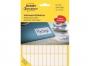 z3320 - etykiety do odręcznego opisywania samoprzylepne białe Avery Zweckform 3320 32x10 mm / 1144 szt./op.