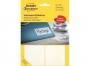 z3330 - etykiety do odręcznego opisywania samoprzylepne białe Avery Zweckform 3330 80x54 mm / 112 szt./op.