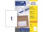z3478p - etykiety samoprzylepne uniwersalne białe Avery Zweckform 3478 papierowe 210x297 mm, ark. A4 1x1, 100 ark./op.