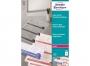 z3491p - folia do drukarek laserowych A4 Avery Zweckform 3491 na klisze drukarskie, bezbarwna matowa, grubość 0,10 mm, 100 ark./op.