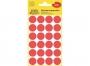 z359_ - etykiety samoprzylepne okrągłe Avery Zweckform kolorowe, kółka, 8 mm, 24 etyk./op.