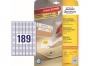 z4731 - etykiety samoprzylepne usuwalne białe Avery Zweckform 4731 Stick&Lift 25,4x10 mm, ark. A4 7x26, ILK, 25+5 ark./op.