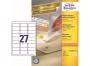 z4737 - etykiety samoprzylepne usuwalne białe Avery Zweckform 4737 Stick&Lift 63,5x29,6, 100 ark./op.
