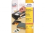 z4742 - etykiety na kasety video samoprzylepne białe usuwalne Avery Zweckform 4742 78,7x46,6 mm, ark. A4 2x6, 25 ark./op.