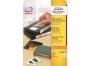 z4746 - etykiety na kasety video samoprzylepne białe usuwalne Avery Zweckform 4746 147,3x20 mm, ark. A4 1x13, 25 ark./op.
