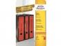 z475__ - etykiety na segregator samoprzylepne Avery Zweckform 61x297 mm kolorowe szerokie, ark. A4 3x1, 20 ark./op.