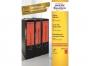z476e__ - etykiety na segregator samoprzylepne Avery Zweckform 192x61 mm kolorowe szerokie, ark. A4 1x4, 100 ark./op.Przy zakupie  3 opakowań etykiet otrzymasz czekoladę Lindt w prezencie
