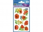 z54453 - naklejki Avery Zweckform Z-Design 54453 z kwiatami - maki, 8x1, 30 ark./10 blistrów