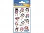 z56791 - naklejki Avery Zweckform Z-Design 56791 metaliczne - pingwinki, 18x1, 10 ark./10 blistrów