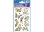 z57024 - naklejki Avery Zweckform Z-Design 57024 tłoczone pozłacane - motyle, 14x1, 20 ark./10 blistrów
