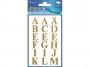 z59127 - naklejki Avery Zweckform Z-Design 59127 Litery (16mm) złote - wodoodporne, 18x1, 20 ark./10 blistrów