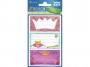 z59198 - naklejki Avery Zweckform Z-Design 59198 na zeszyty - korony, 3x1, 20 ark./10 blistrów