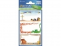 z59244 - naklejki Avery Zweckform Z-Design 59244 na książki i zeszyty - smok, skarby, 3x1, 20 ark./10 blistrów