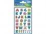 z59334 - naklejki Avery Zweckform Z-Design 59334 kolorowe literki, 34x1, 30 ark./10 blistrów