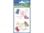 z59598 - naklejki Avery Zweckform Z-Design 59598 na zeszyty i książki - kucyki, 2x1, 20 ark./10 blistrów