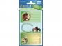 z59681 - naklejki Avery Zweckform Z-Design 59681 na zeszyty i książki - konie, 3x1, 30 ark./10 blistrów