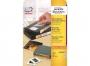z6020p - etykiety do oznaczania kaset samoprzylepne przezroczyste białe usuwalne Avery Zweckform 6020 42,3x8,5 mm, ark. A4 4x32 25 ark./op.
