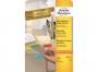 z6041p - etykiety mini samoprzylepne Avery Zweckform 6041 45,7x21,2 mm, ark. A4 4x12, żółte, ILK, 20 ark./op.