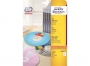 z6043o - etykiety na płyty CD / DVD samoprzylepne białe Avery Zweckform 6043 śr. 117 mm, ark. A4 1x2, 25 ark./op.