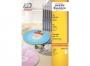 z6043p - etykiety na płyty CD / DVD samoprzylepne białe Avery Zweckform 6043 śr. 117 mm, ark. A4 1x2, 100 ark./op.