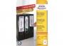 z606020o - etykiety samoprzylepne na segregatory Avery Zweckform 34x192 mm, ark. A4, 30 ark./op.